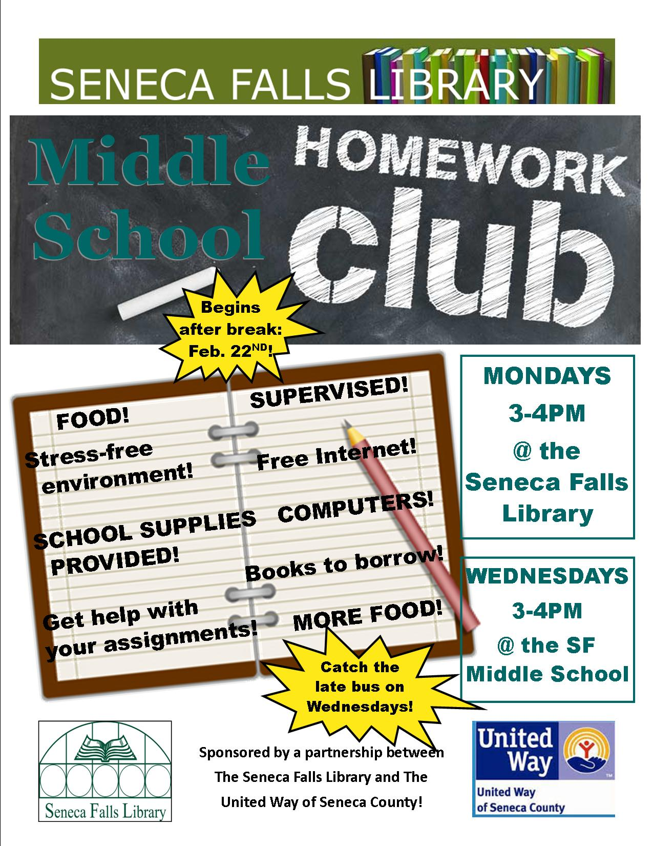 Homework Club Flyer (1)