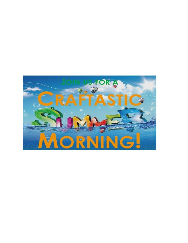 Craftastic Morning Clipart