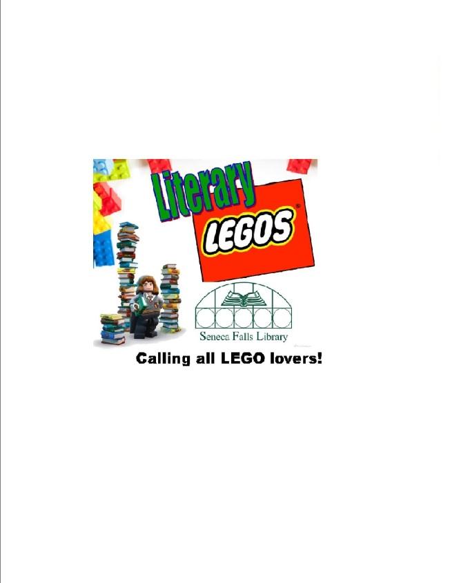 Literary Legos Clipart