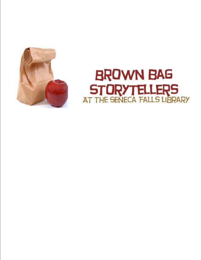 Brown Bag Storytellers clip art