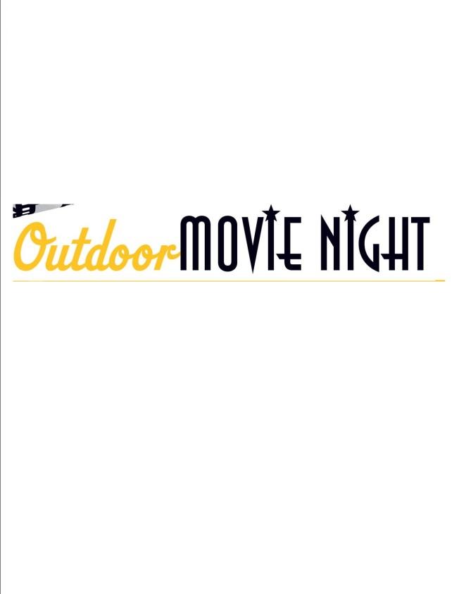 Family movie night clipart