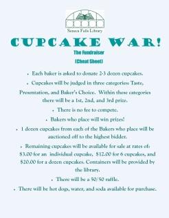 cupcake war cheat sheet