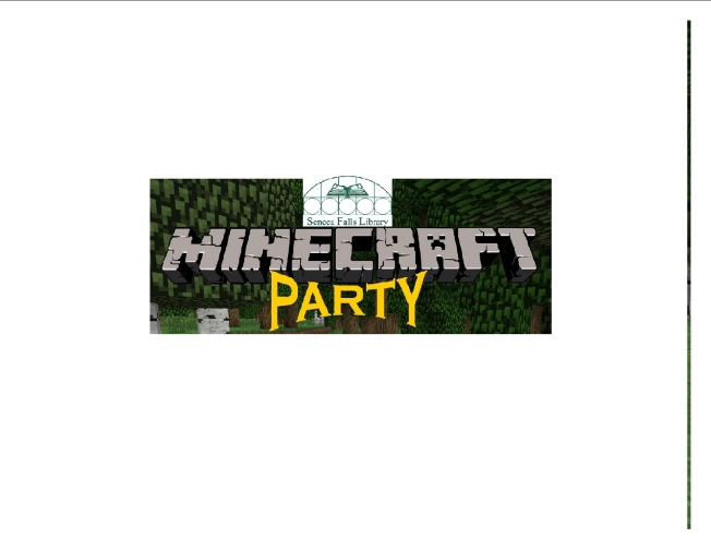 Minecraft Party clipart (1)