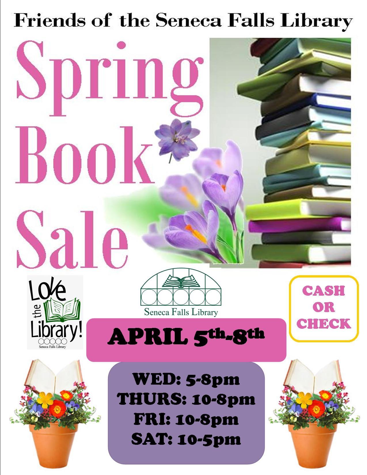 Spring Book Sale (1)