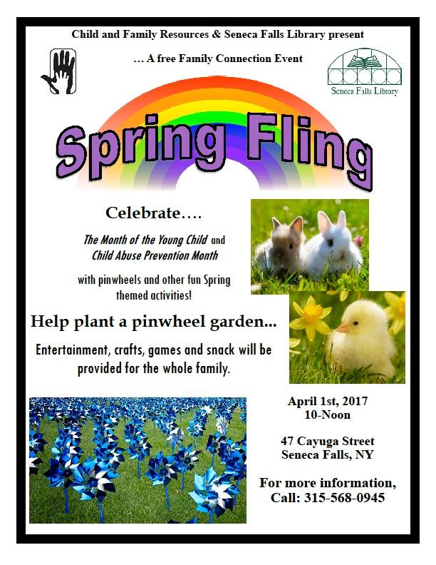 Spring Fling Pinwheel