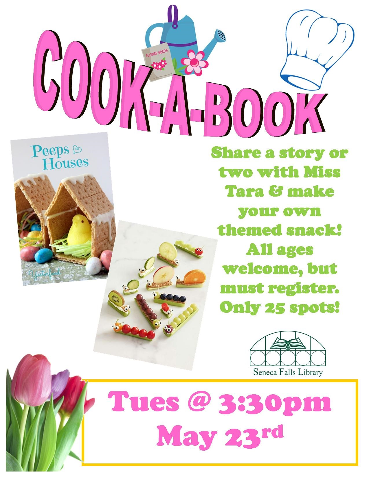 cook a book MAY