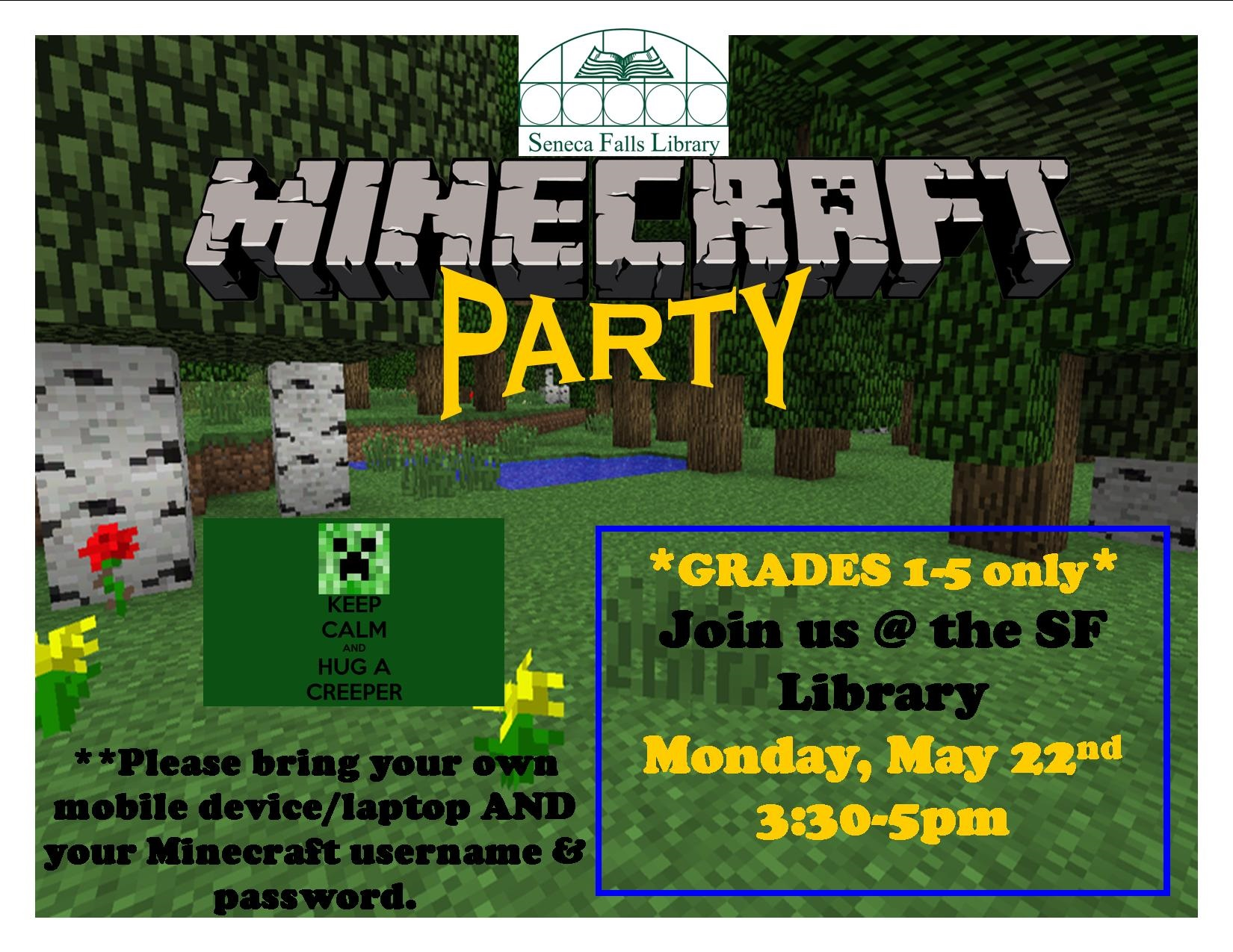Minecraft Party MAY